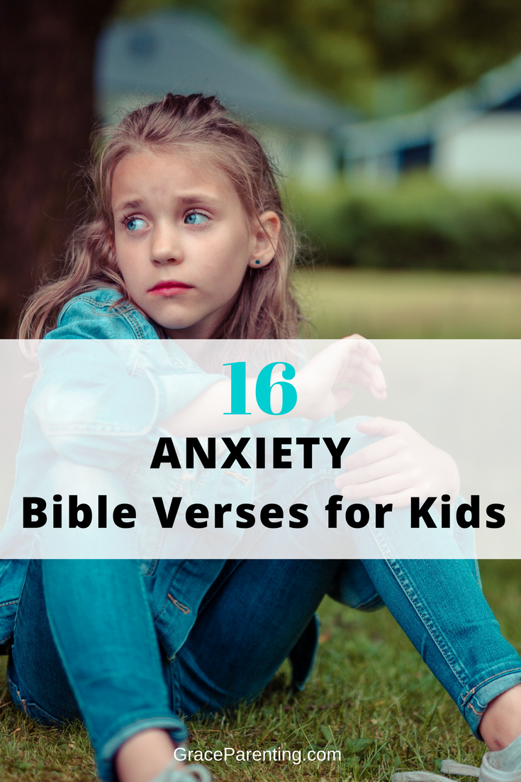 16 Bible Veres About Anxiety for kids
