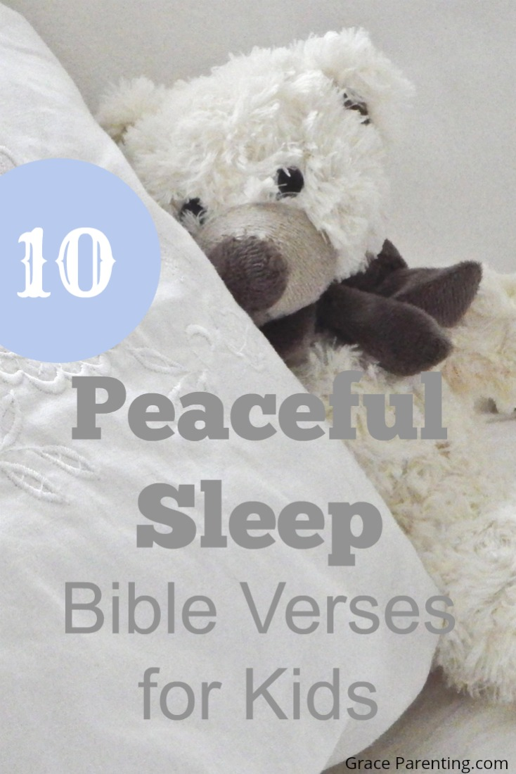 10 Peaceful Sleep Bible Verses for Kids