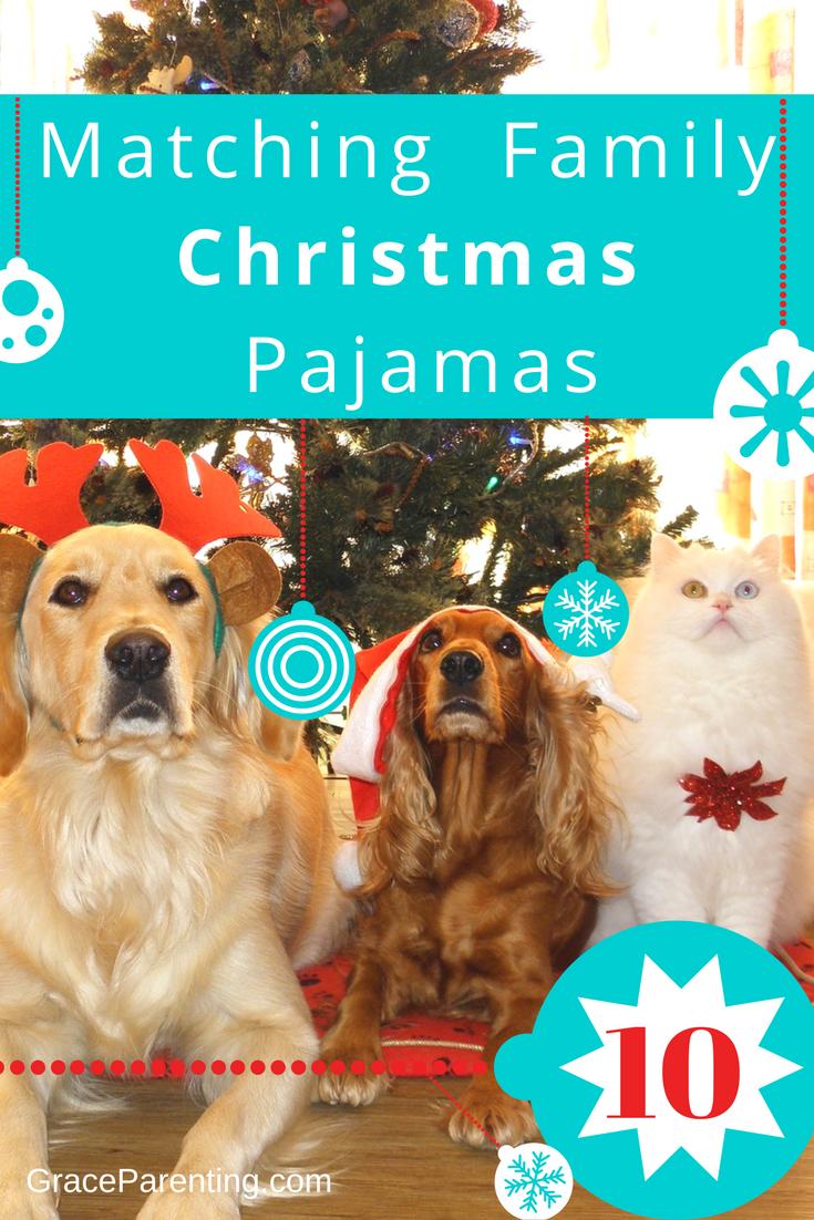 10 Matching Family Christmas Pajamas