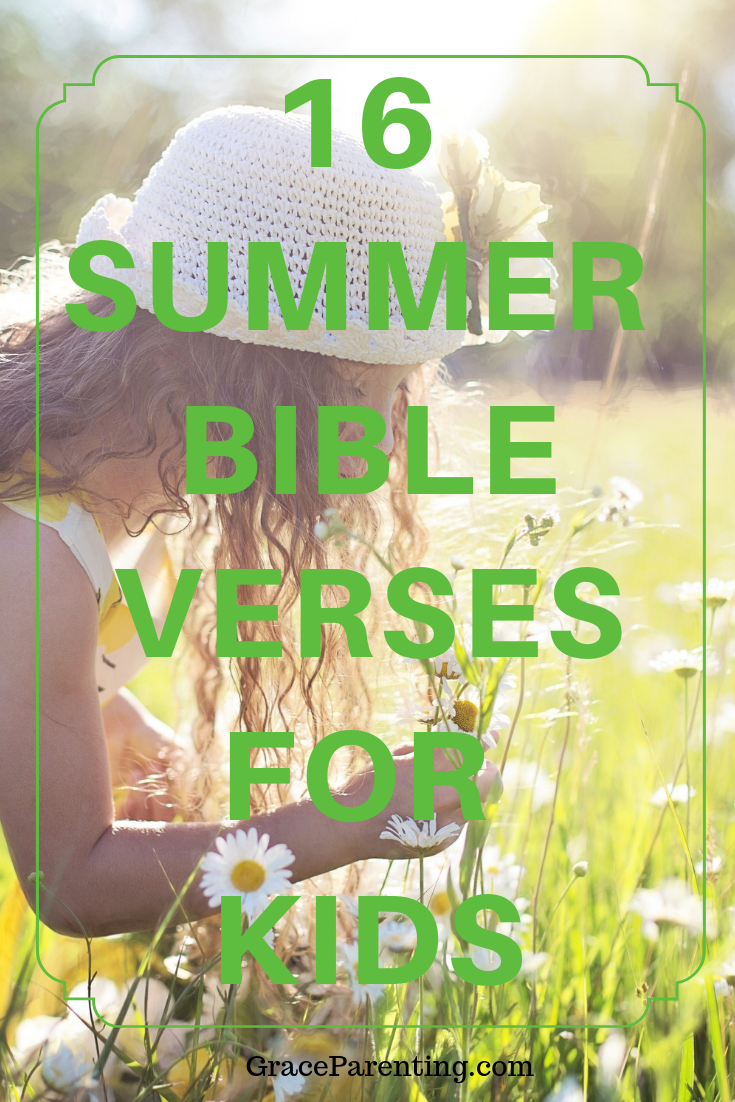 Summer bible verses for kids