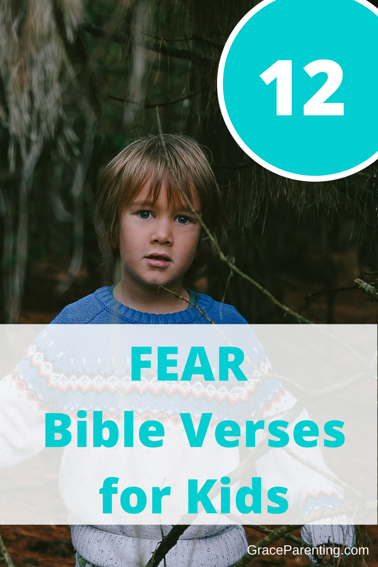 Bible Verses About Fear for Kids