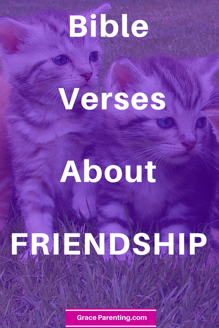 Bible Scriptures about Freindship