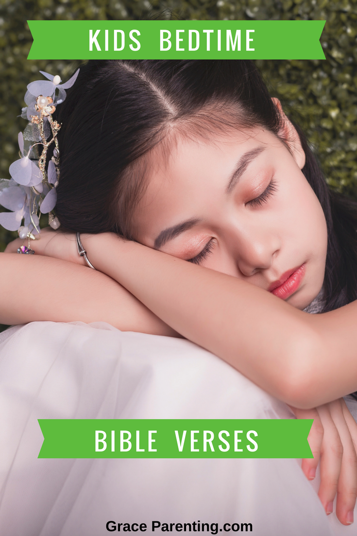 Kids bedtime bible verses for a peaceful sleep