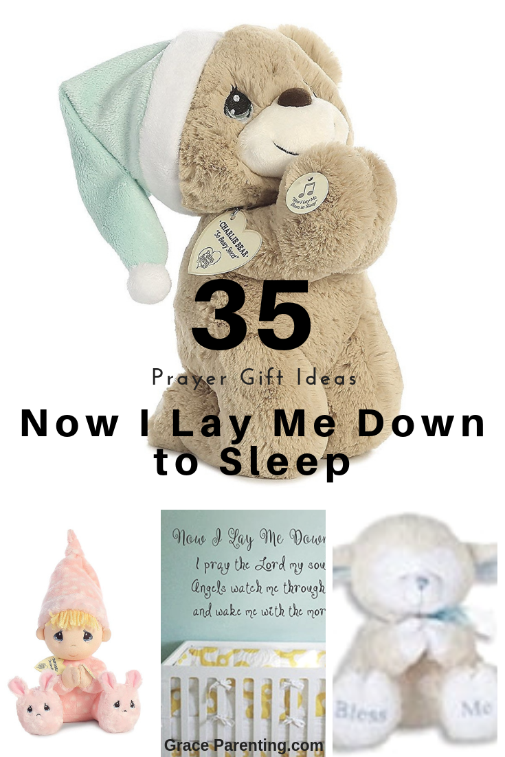 35 Gift Ideas for Now I Lay Me Down To Sleep Prayer. Little kids prayer toys, books, and room.
