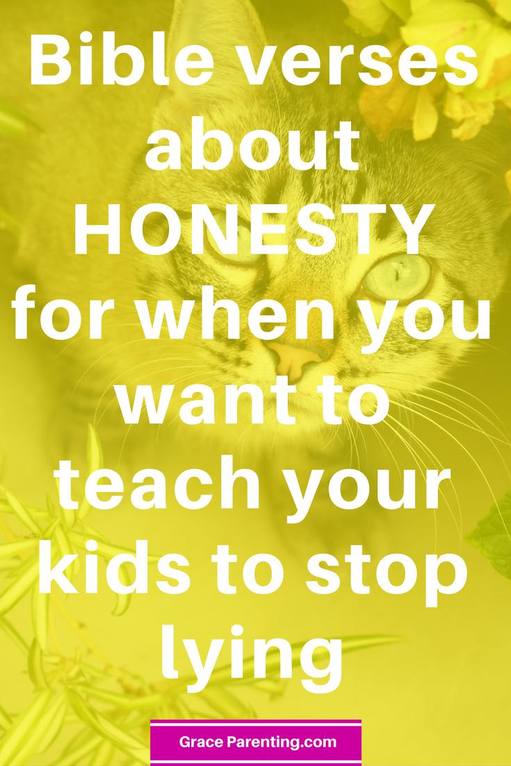 Honesty Bible Verses